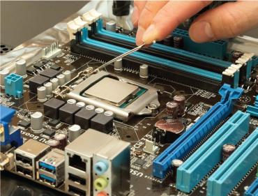 Manufatura de circuitos eletrônicos